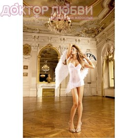 Мини-платье белое Angel OS 42-46 BL026